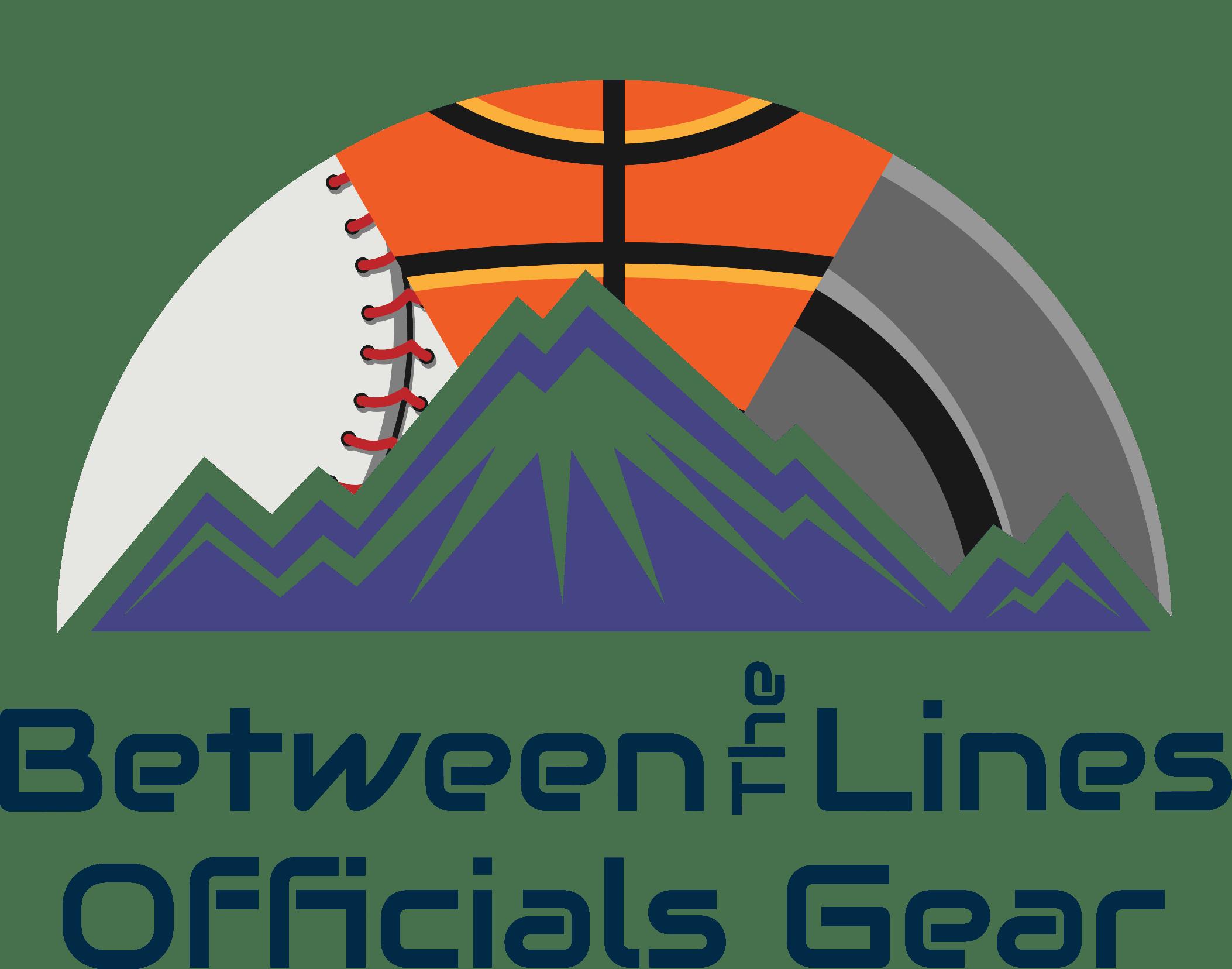 Between The Lines Officials Gear